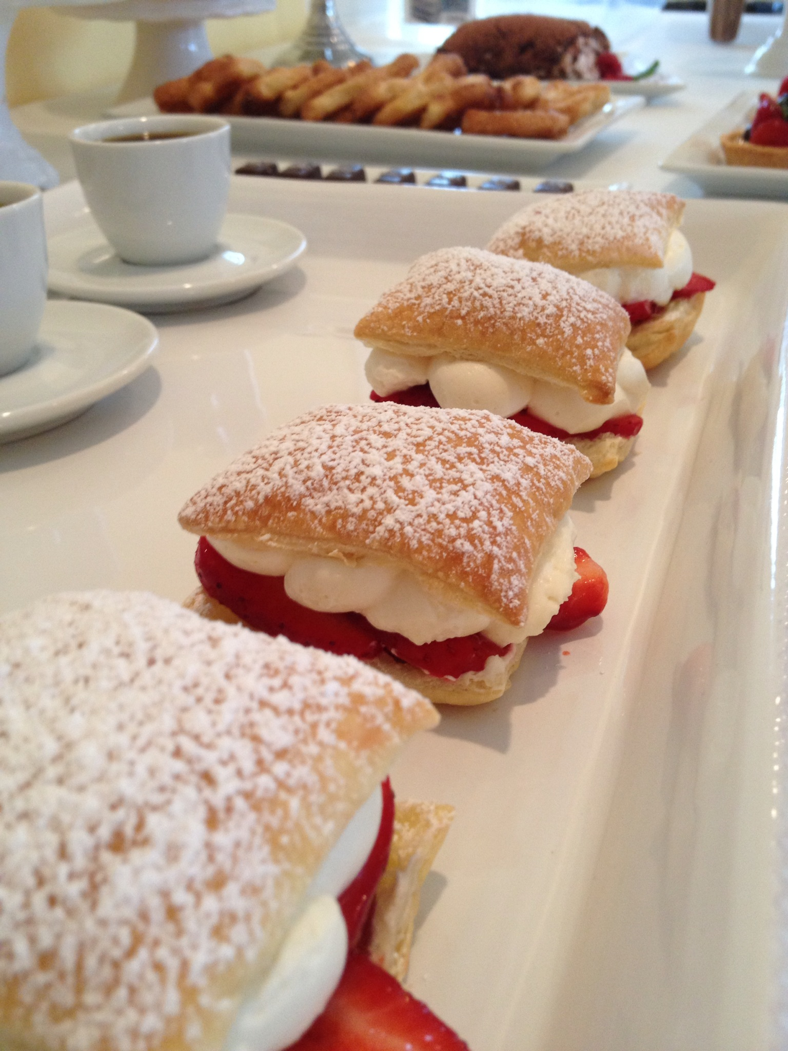 Strawberry Napoleons are so pretty, so easy, so delicious.... and with puff pastry, there are soooo many possibilities!