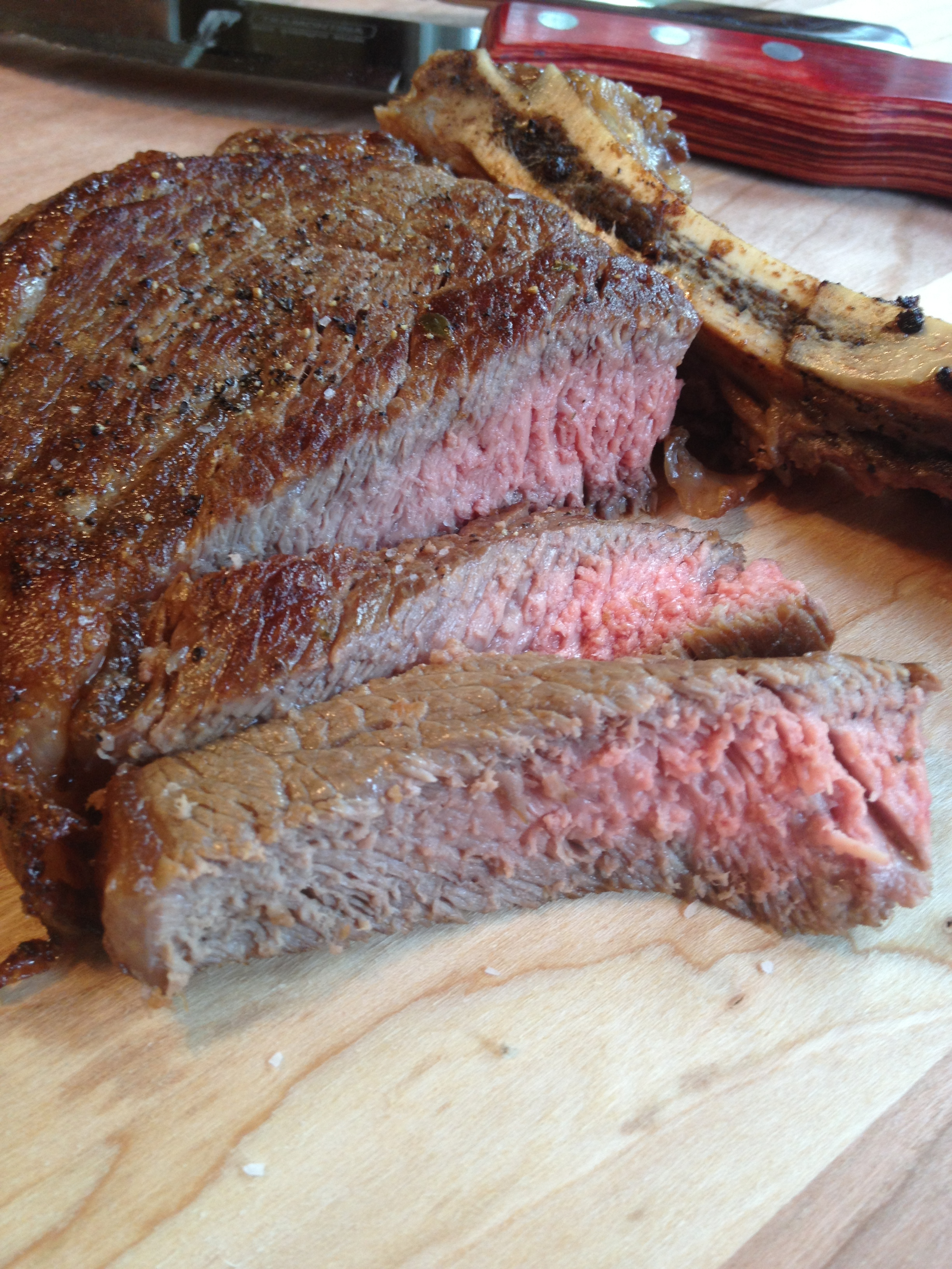 best ever steaks cooked in a cast iron skillet MartieDuncan.com