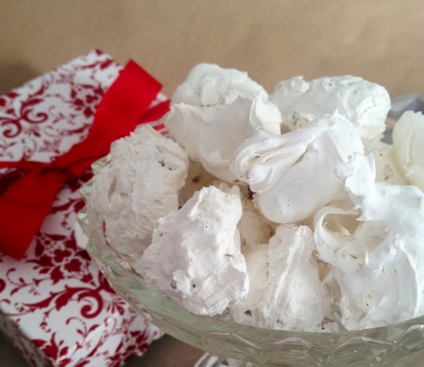 southern pecan divinity recipe old fashioned Christmas candy MartieDuncan.com