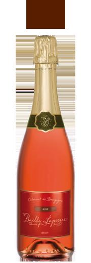 Bailly Lapierre Rose' Brut Cremant de Bourgogne.png