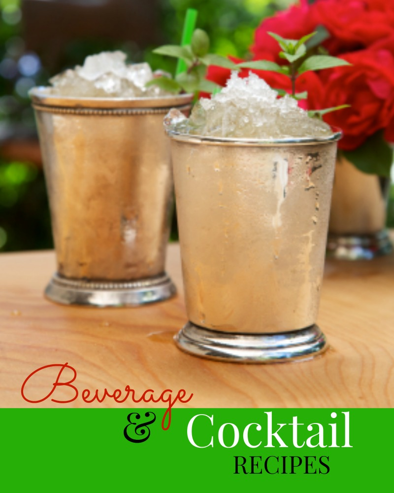 Cocktails and Beverage Recipes Martie Duncan Food Network Star
