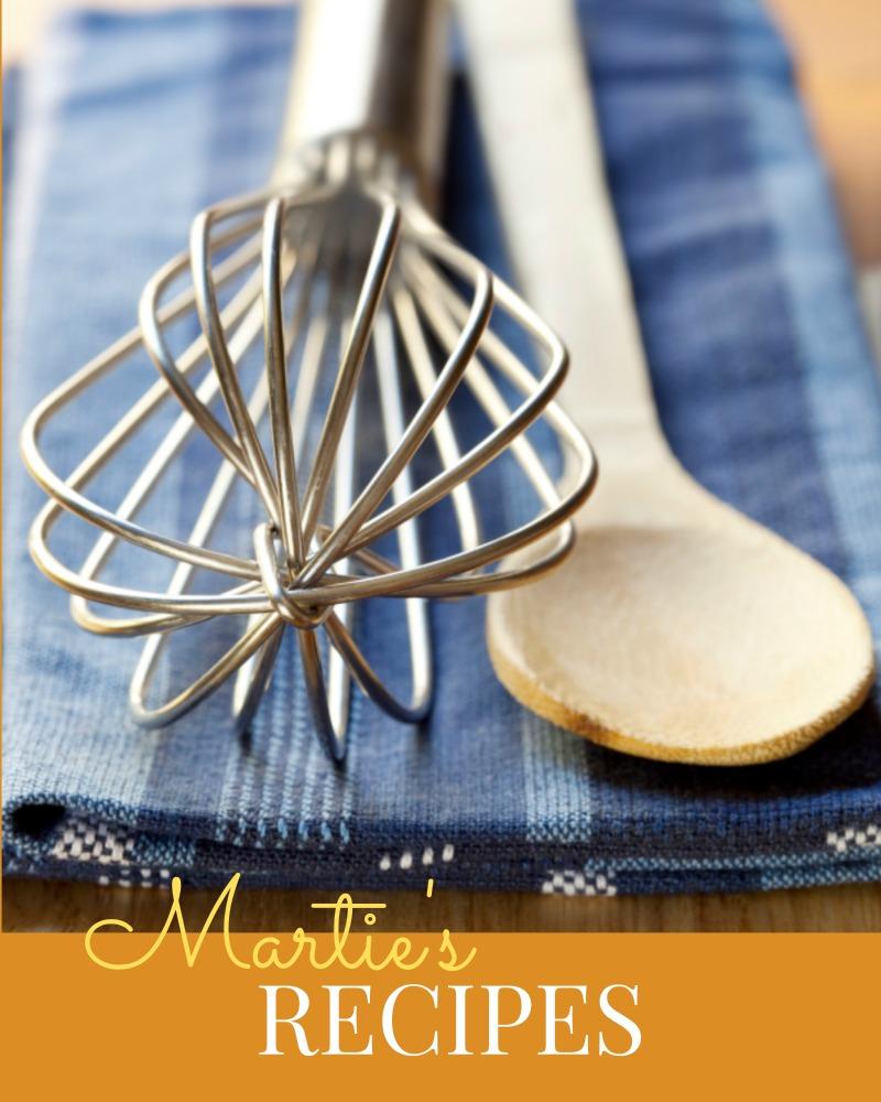 Martie Duncan Food Network Star recipes