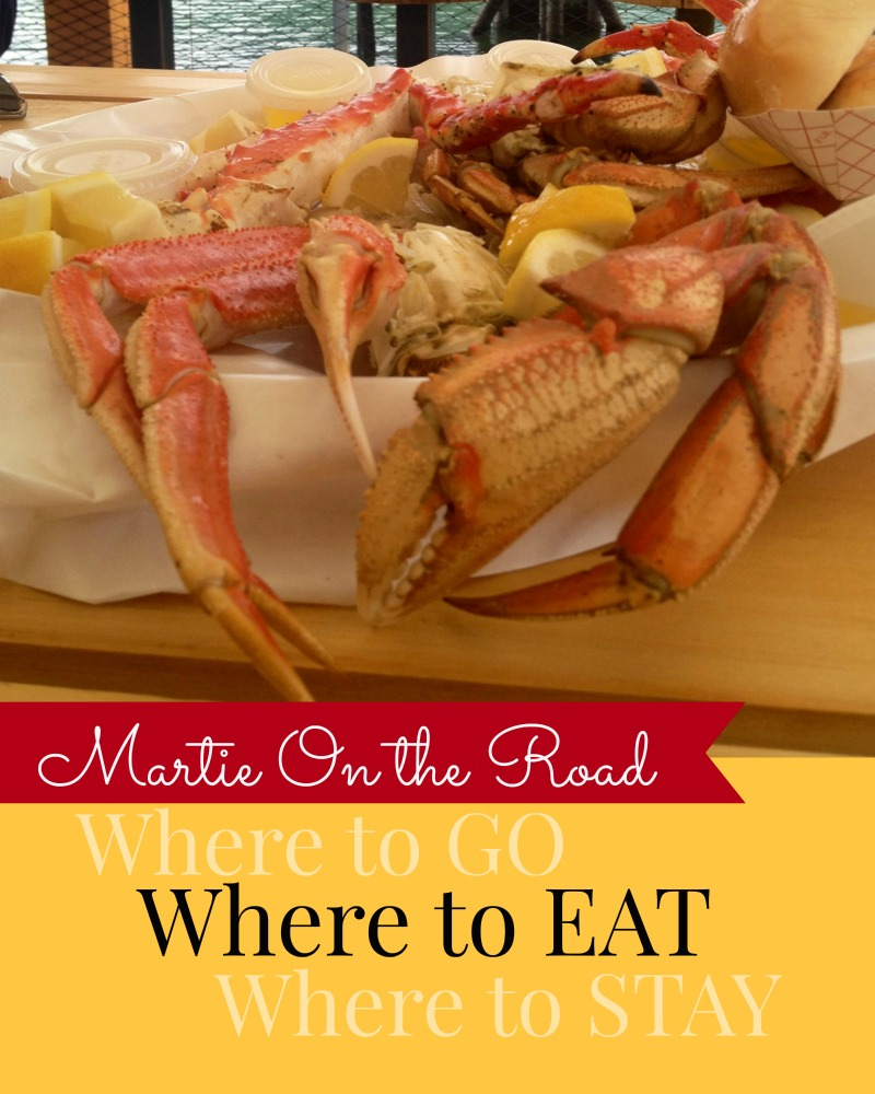 Where to eat where to stay Martie Duncan