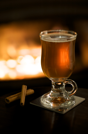 Warm up with a bourbon hot toddy for National Hot Toddy Day!