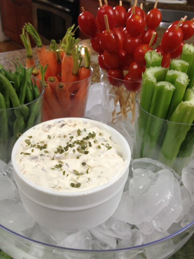 blue cheese dip for wings or veggies
