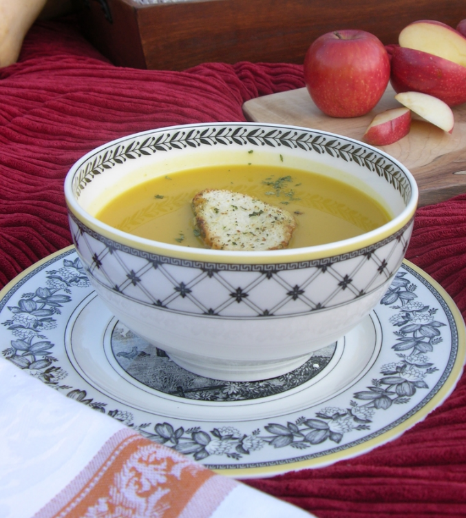 My all-time most popular recipe... Roasted Butternut Squash Soup. So much so, I now grow my own butternut squash from all the seeds!