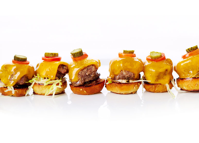 Oscar Party Menu with Sliders