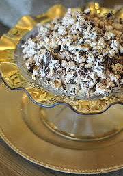 Dark and White Chocolate Popcorn