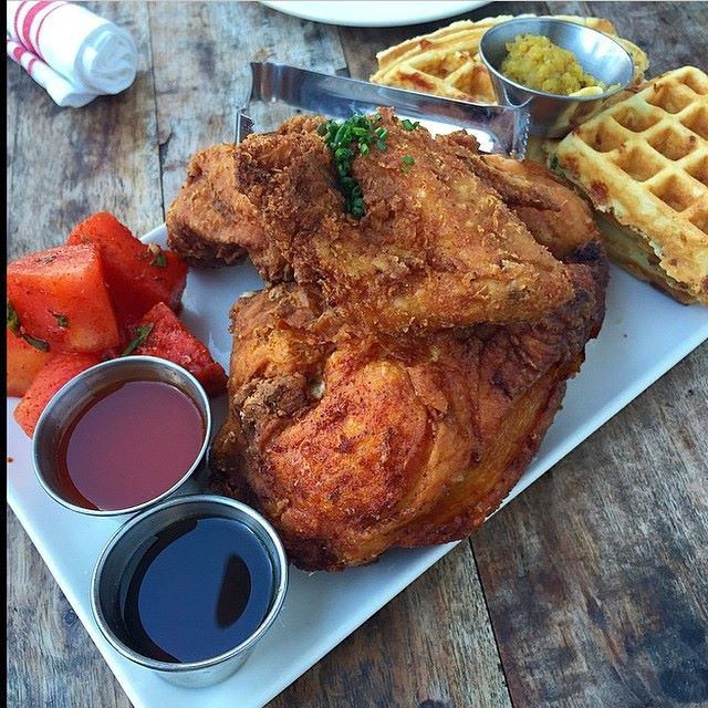 Fried Chicken at Yardbird Miami