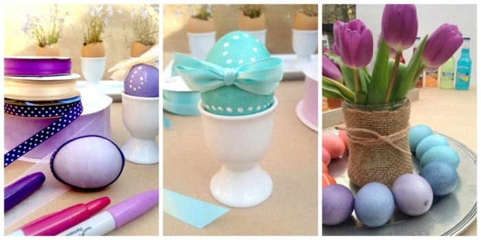 ideas for Easter centerpieces