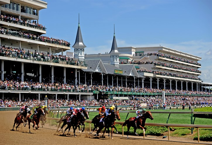 The Kentucky Derby is said to be the greatest two minutes in sports. To me, there is nothing more noble or more beautiful than a horse. Photo: Churchill Downs photo courtesy of Kentucky Tourism