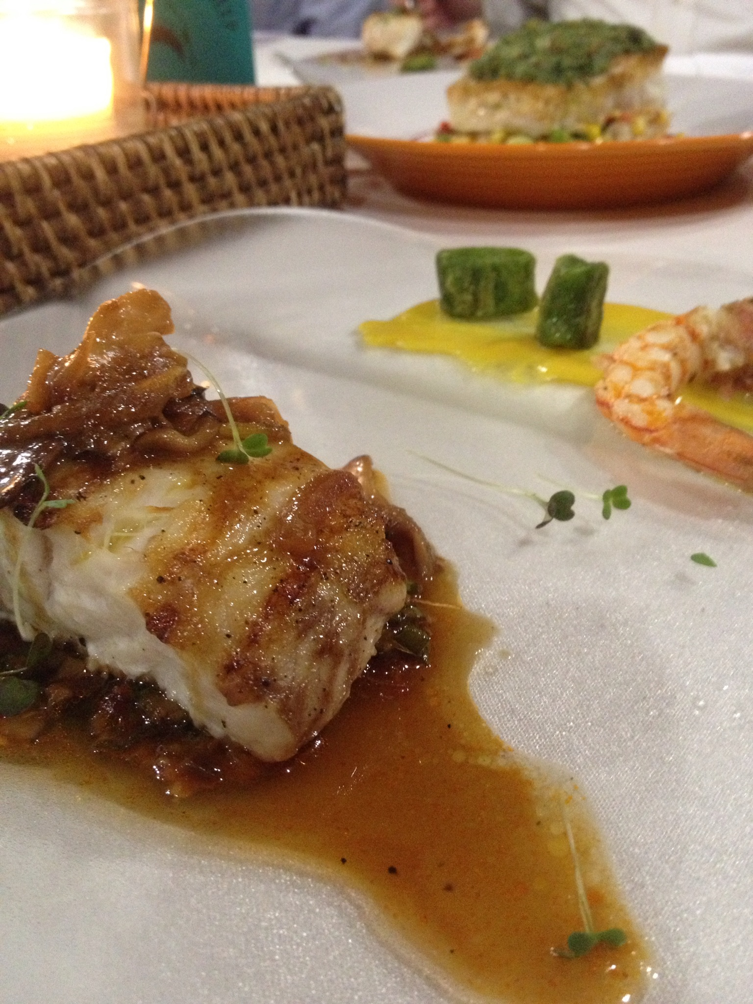 Chef Miguel Roasted Red Snapper