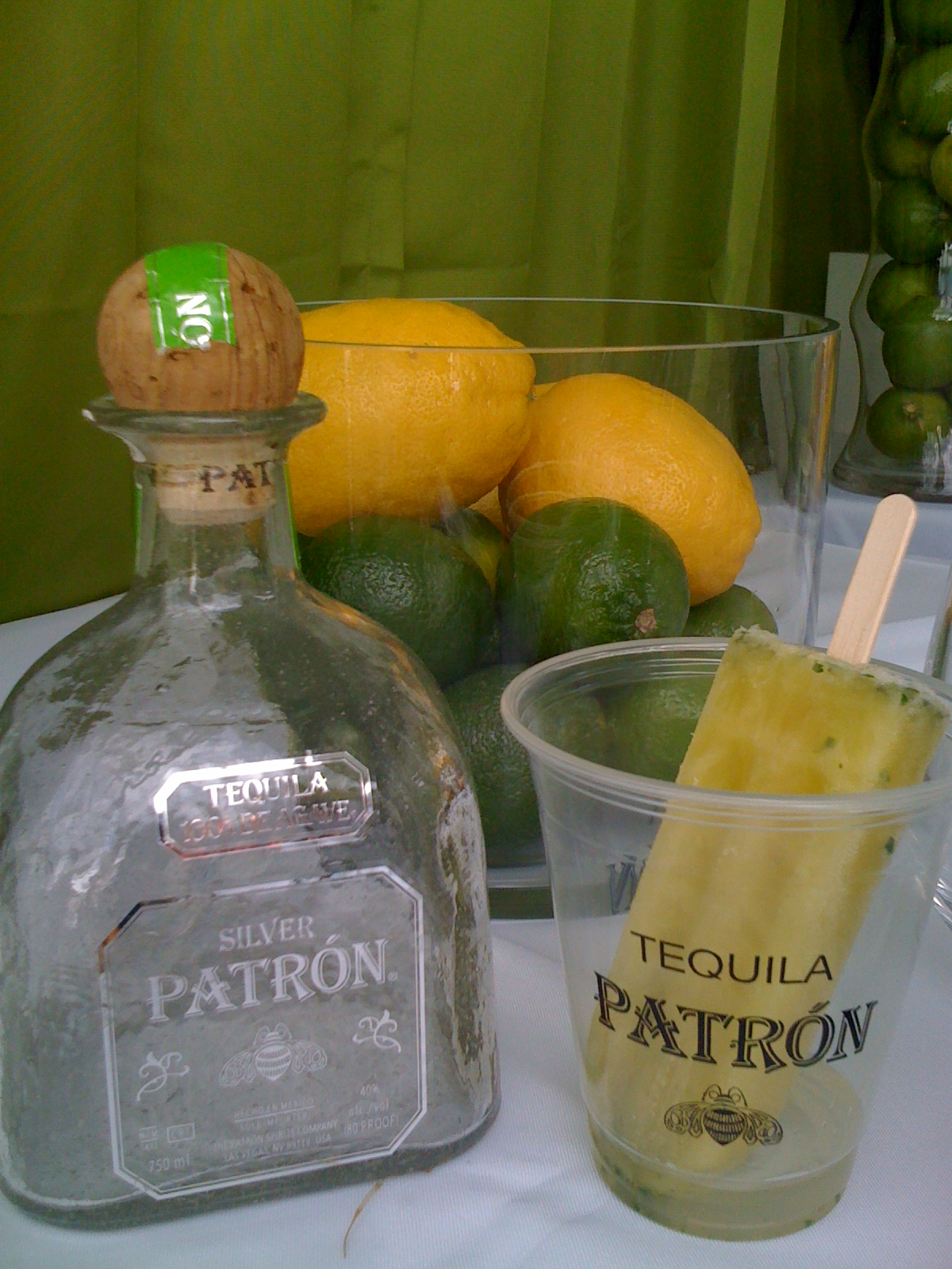 Tequila and Lime Popsicles