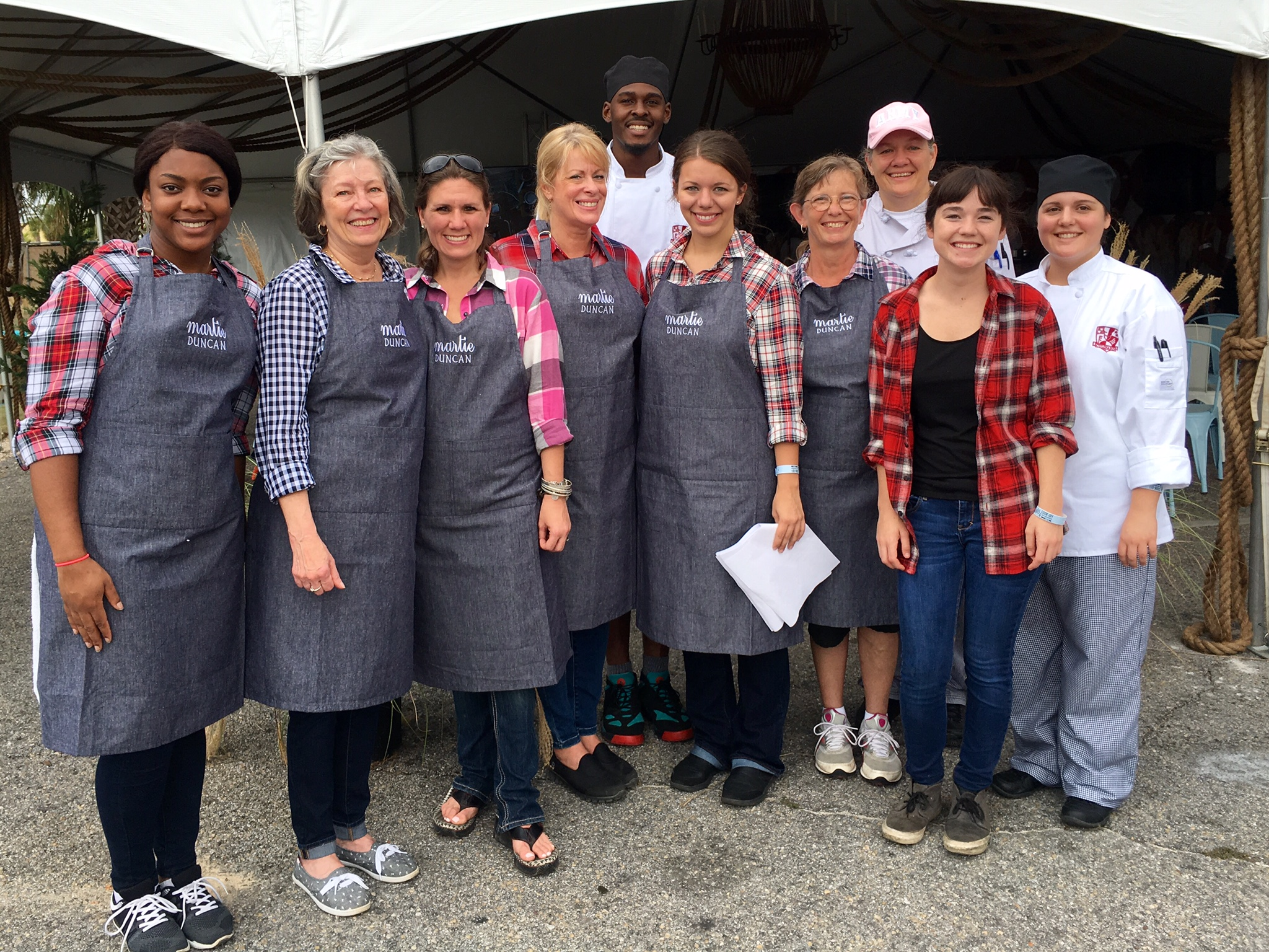 Martie Duncan Events 360 Hangout Oyster Cookoff