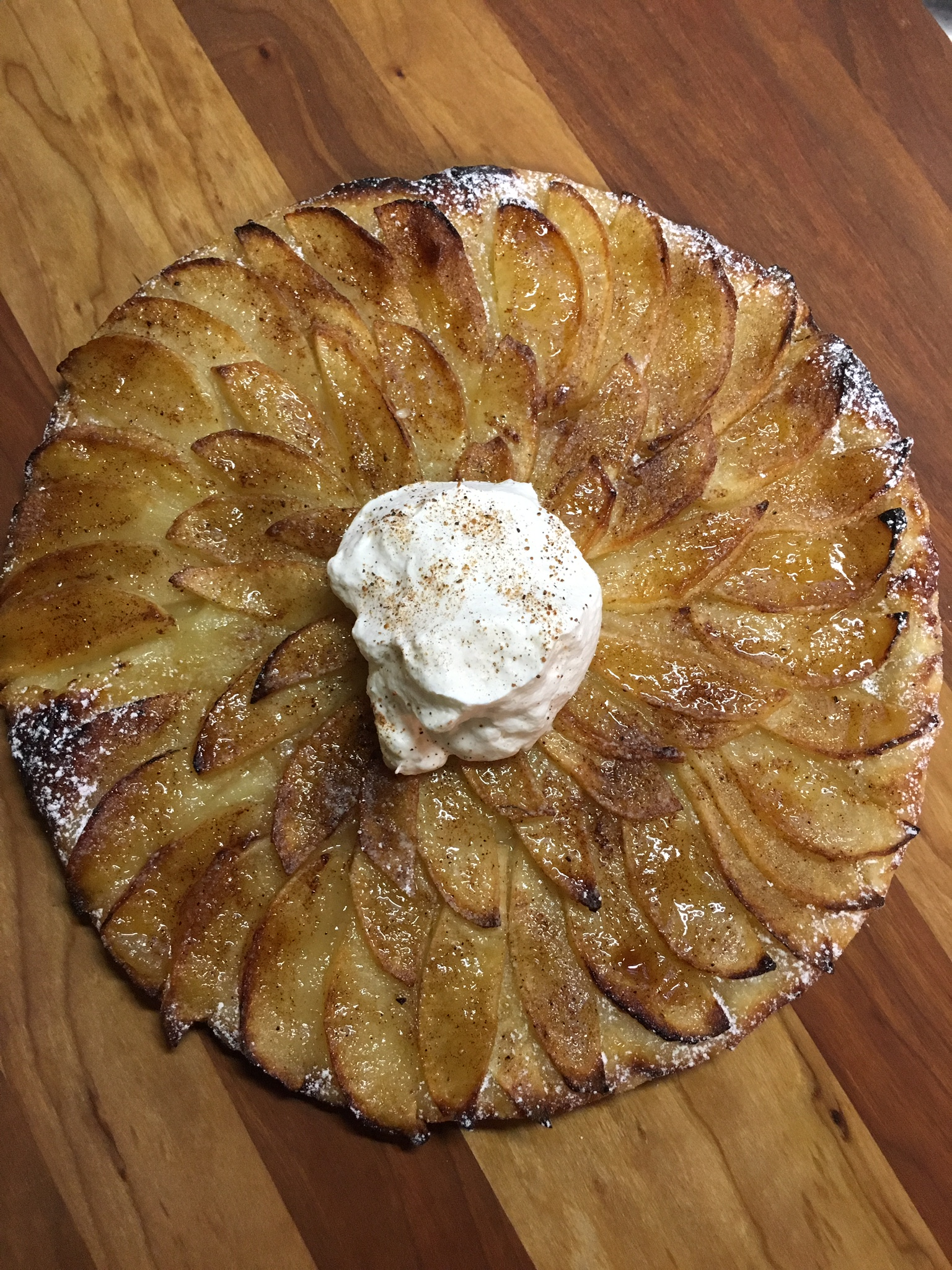 Quick Apple Tart with Puff Pastry Crust