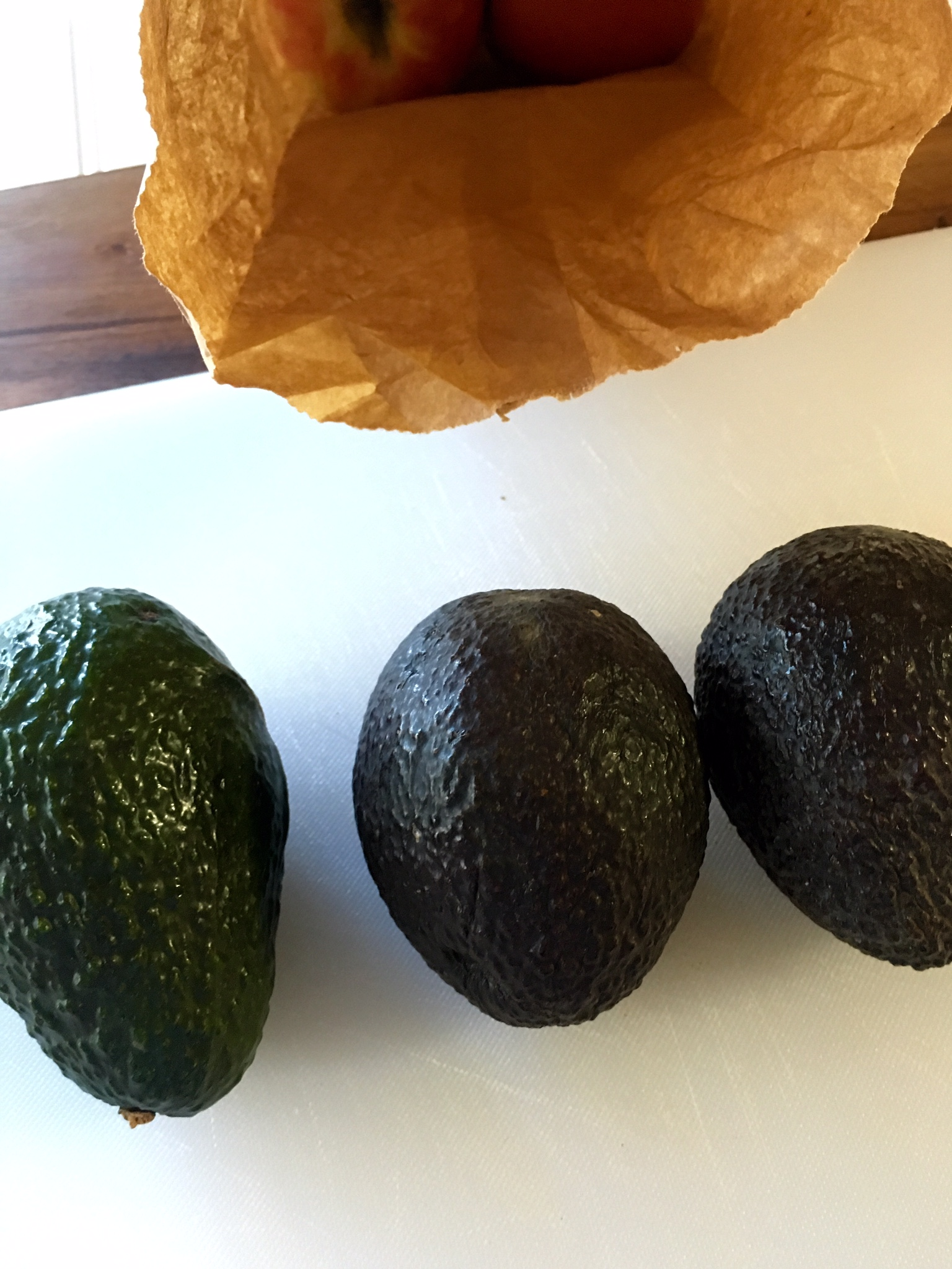 Step by Step Use a Bag to Ripen Avocados for Guacamole