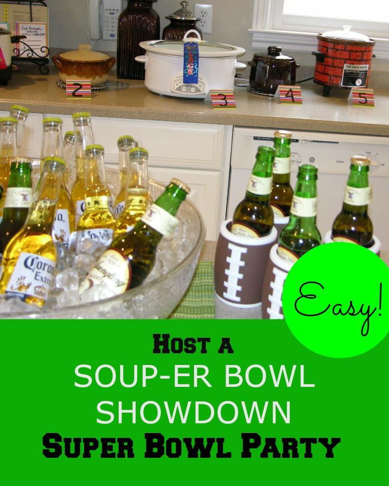 Souper Bowl Party Theme