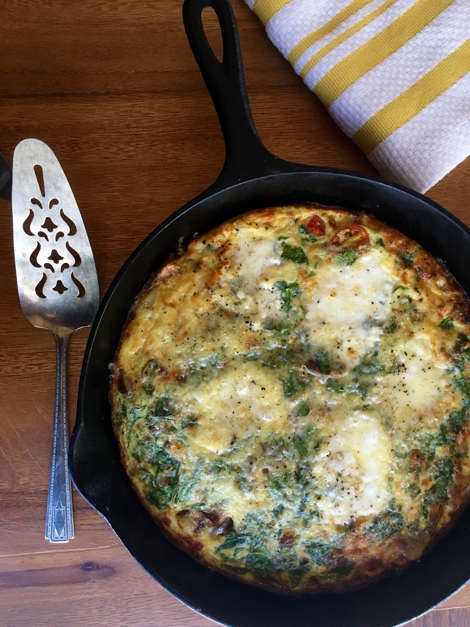 How to Make a Frittata with Ingredients in Your Fridge