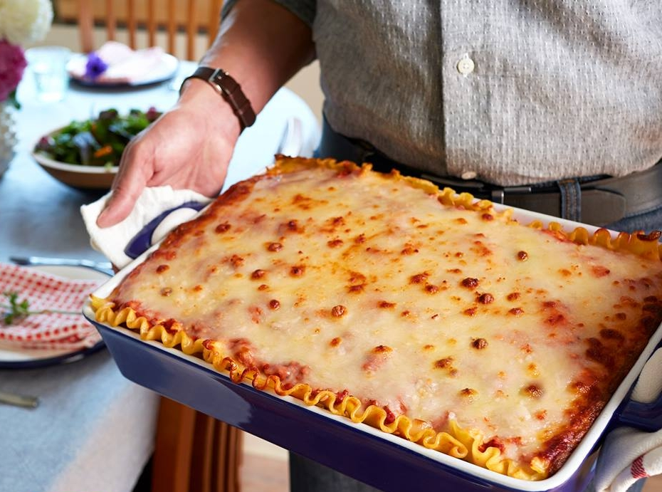 Stouffer's lasagna makes Italian night easy!
