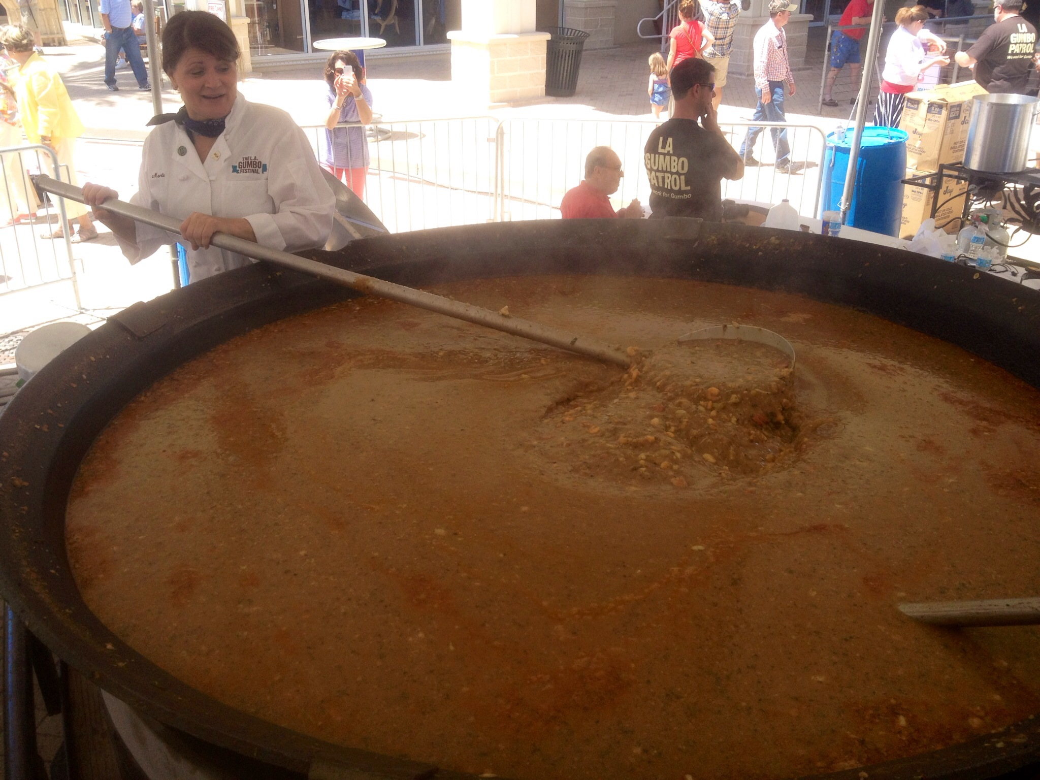 World's largest pot of gumbo