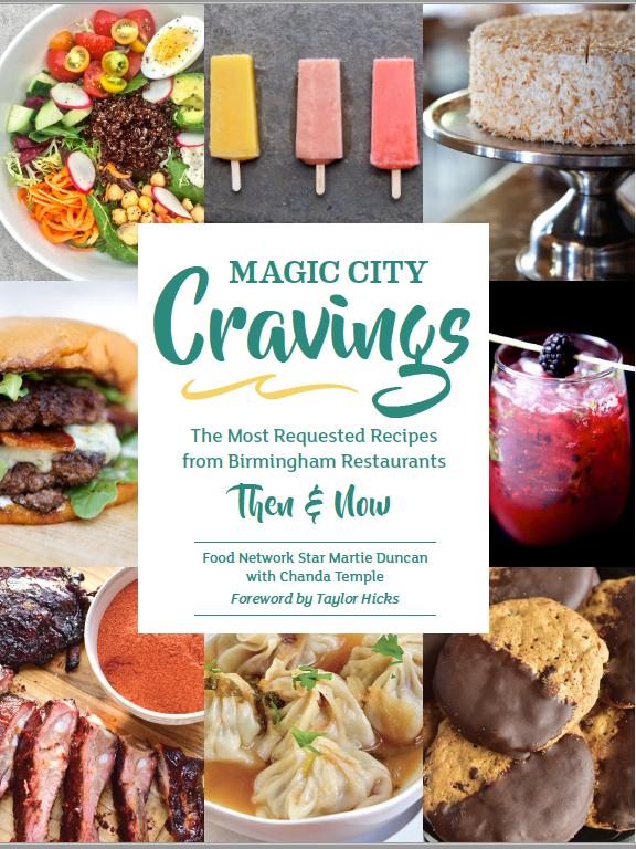 Magic City Cravings Birmingham Cookbook