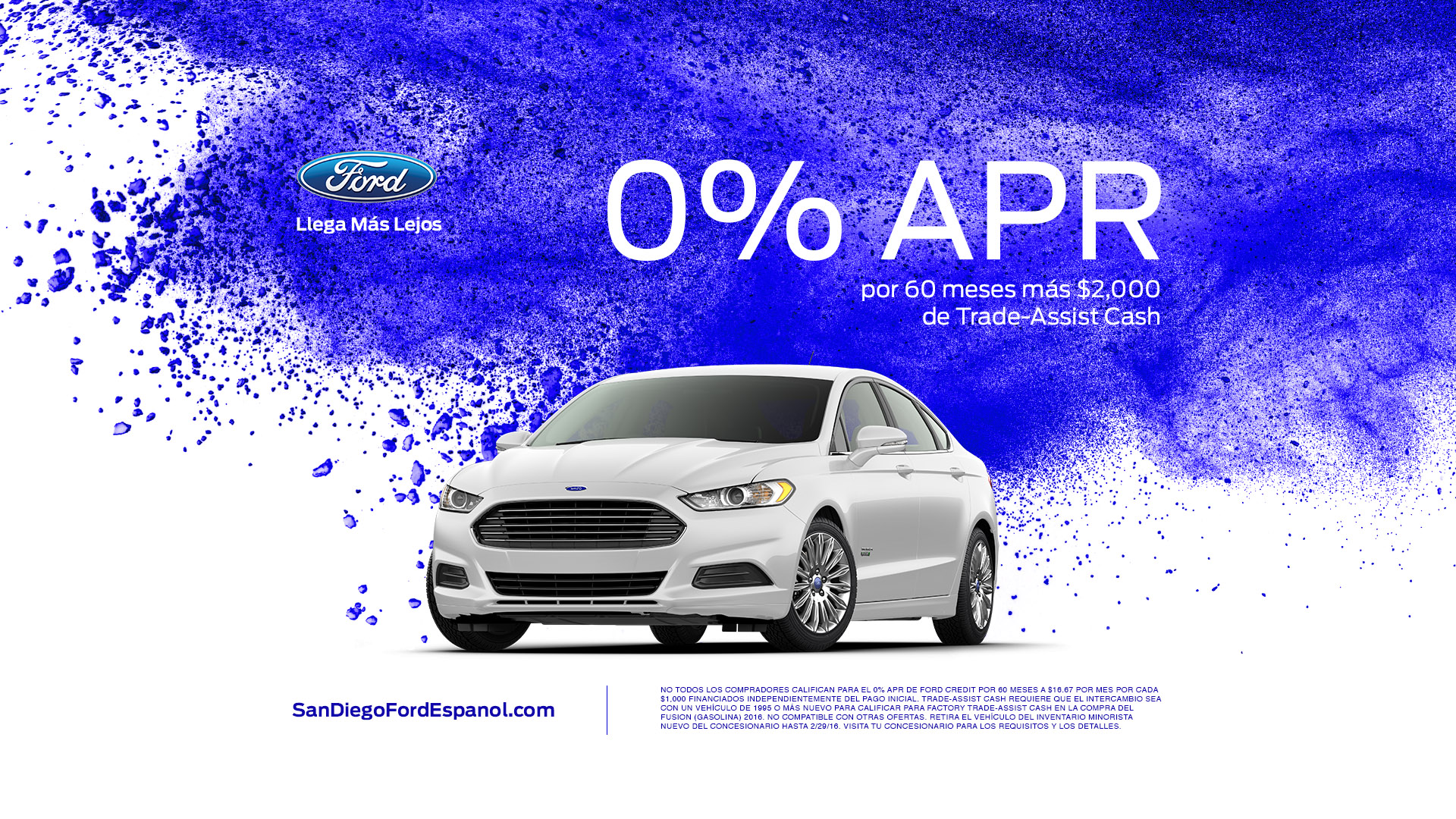 Ford Fusion Offer Art Card