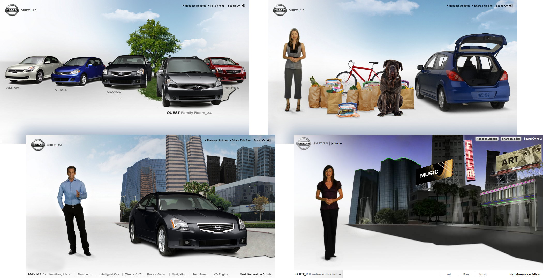 Nissan SHIFT_2.0 Campaign