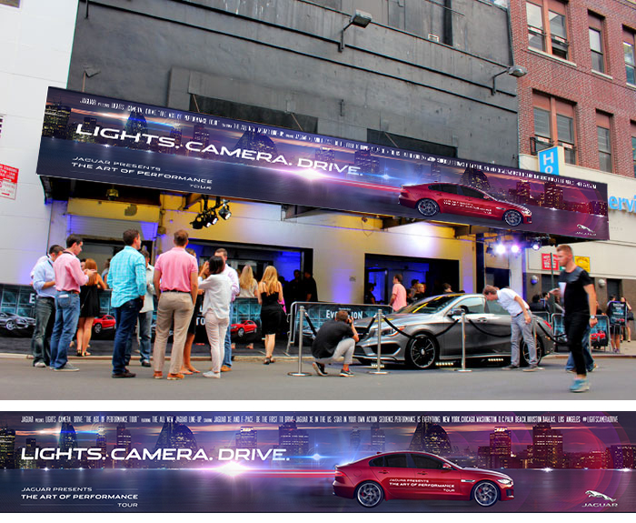 Jaguar Art Of Performance Tour Event