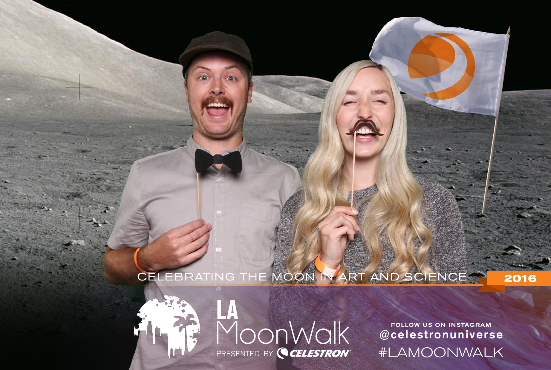 Celestron: LA Moonwalk