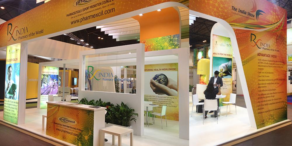 Brand India Pharma at CPhI Worldwide, Madrid, Spain, 2012