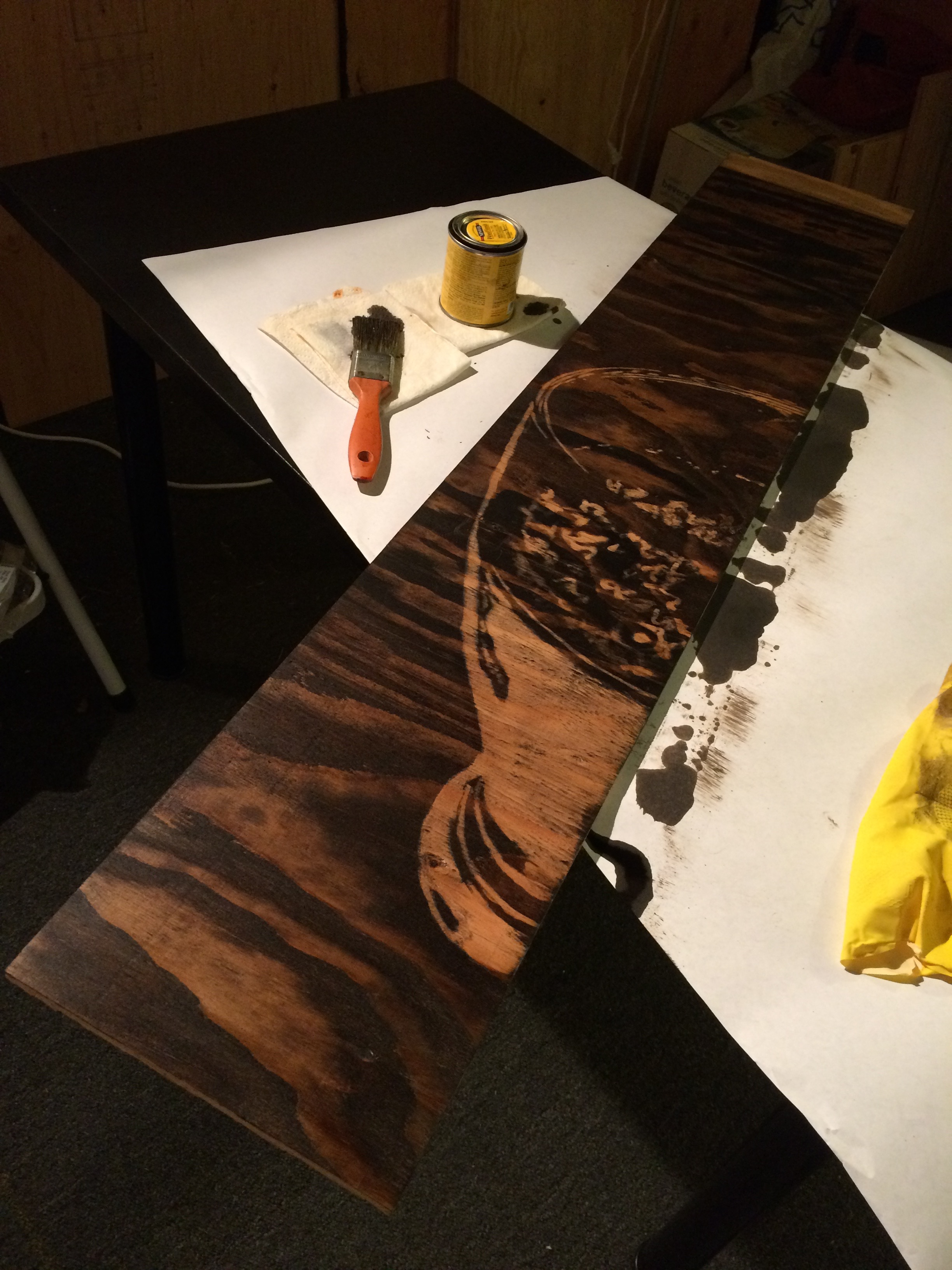 Process shot of 'Pint'