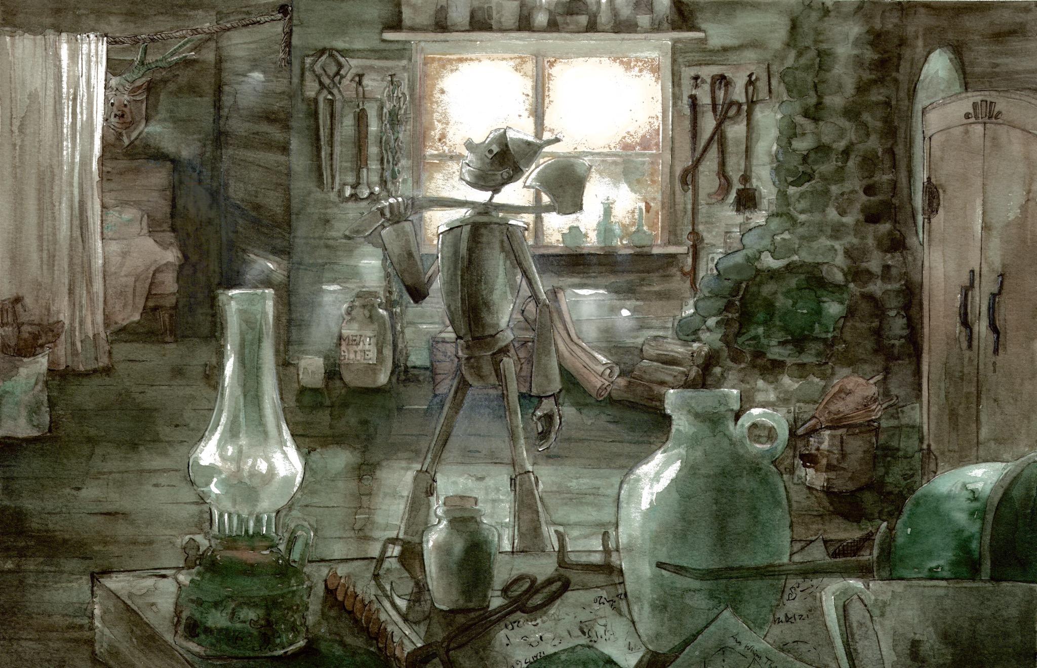 Concept Art by Ann Tseng