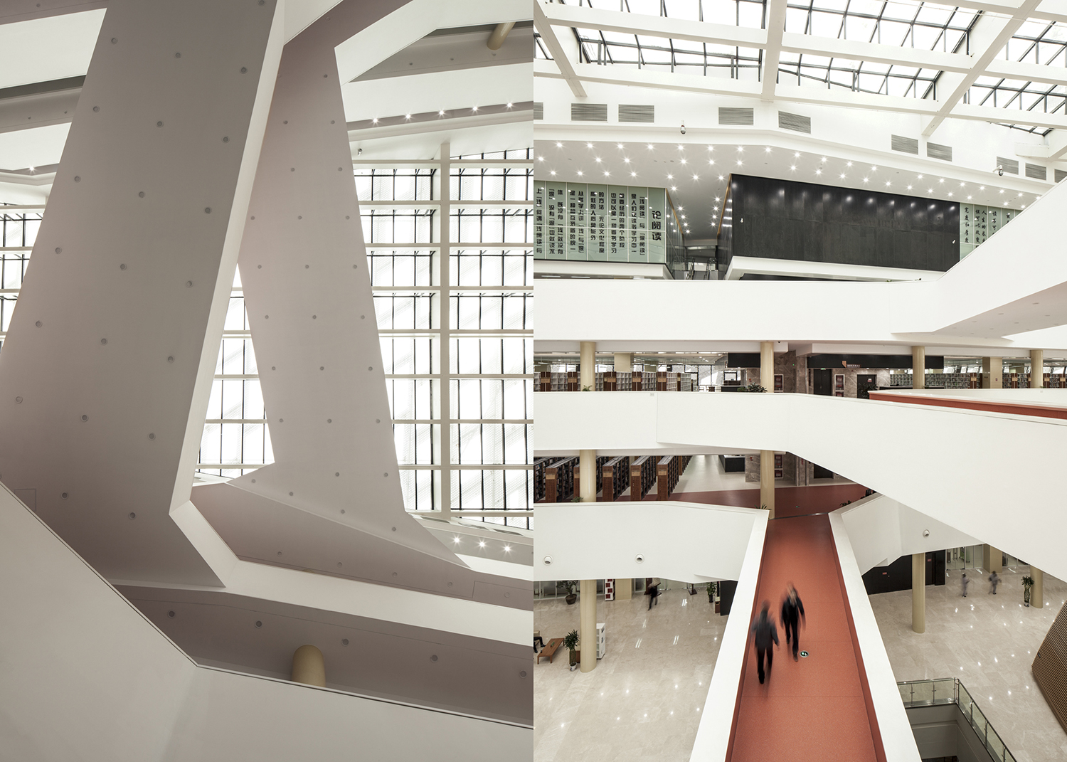 architecture studio . jnn3 cultural center, library . jinan, china