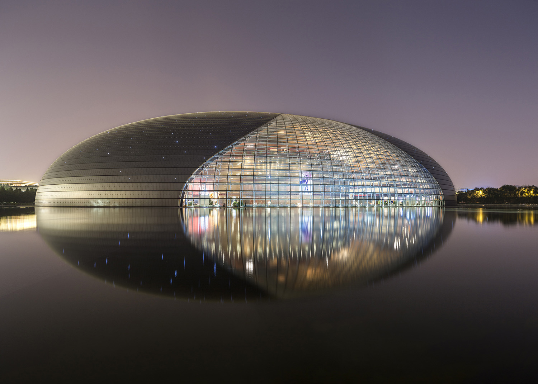 paul andreu + gejianzu . national centre for the performing arts . opera . beijing