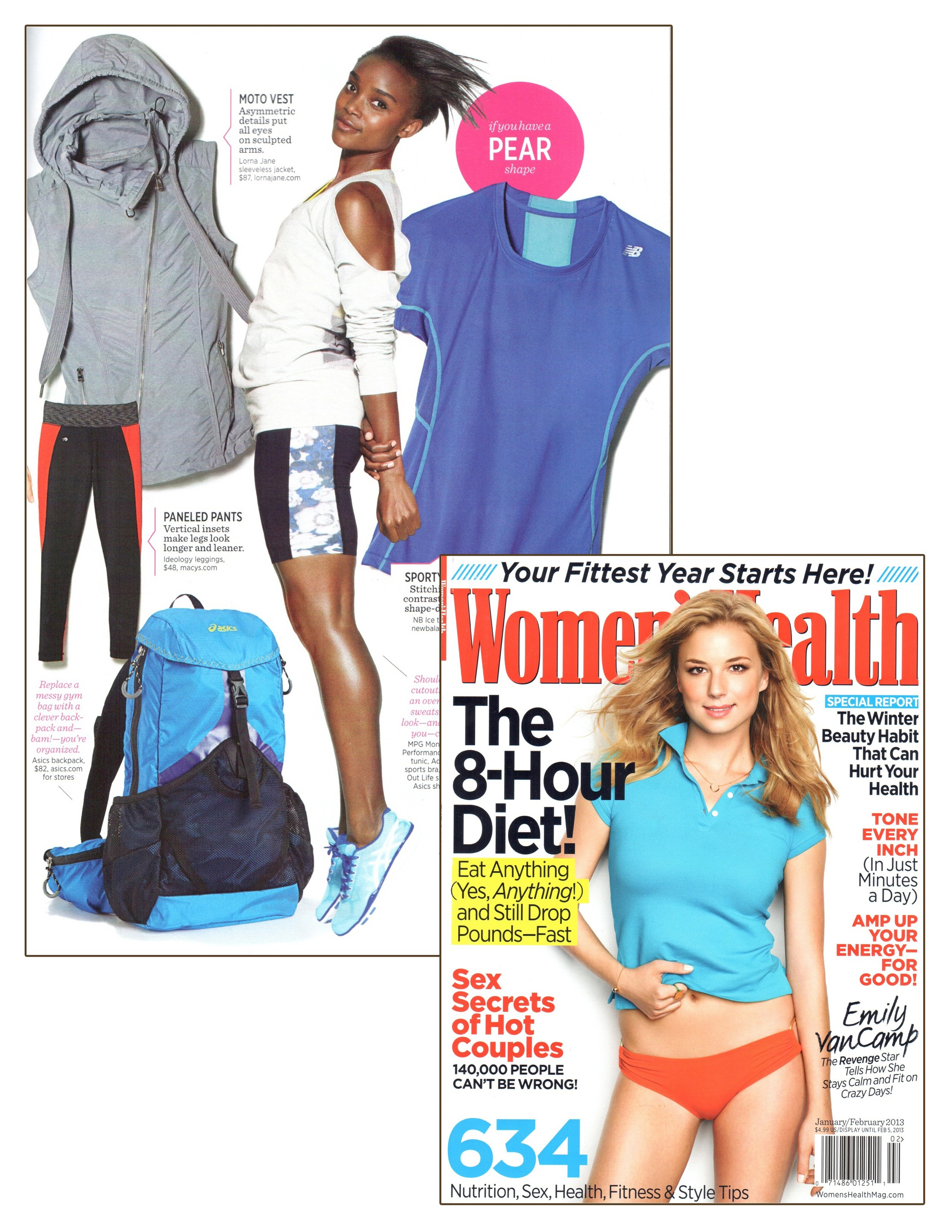 January- February 2013 - Women's Heath - Press - Lorna Jane.jpg