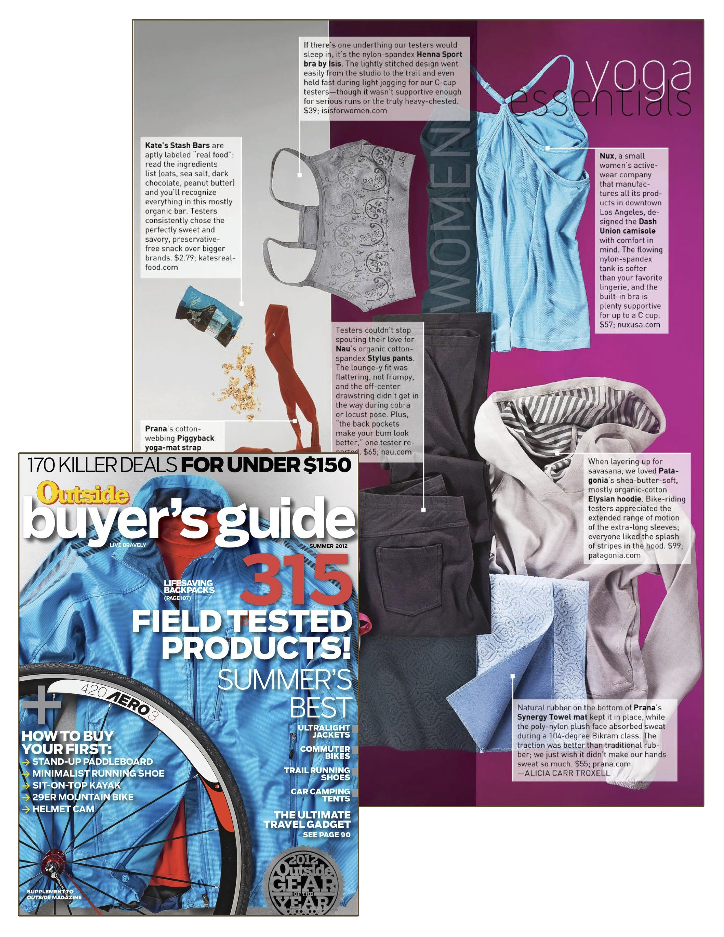 Summer 2012 - Outside Magazine Buyer's Guide - NUX.jpg