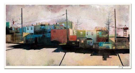 Charm City, Baltimore, Maryland  by Liz Brizzi