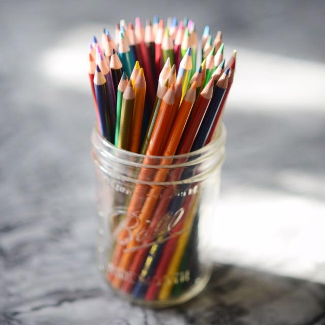 robin camarote colored pencils