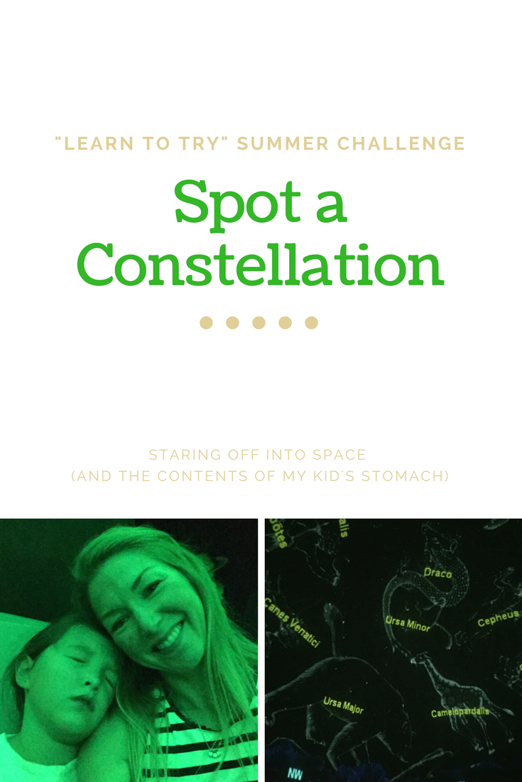 Spot a Constellation- things to do with kids by Robin Camarote