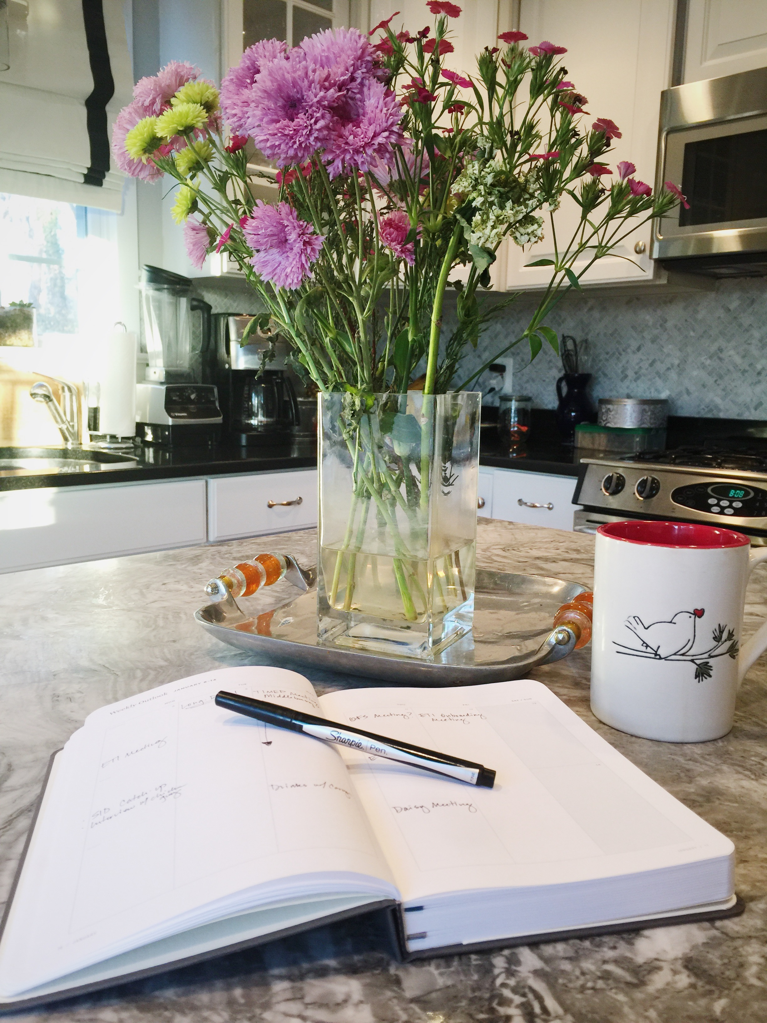Anything is possible with a good planner and a cup of coffee.