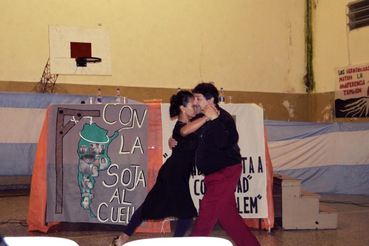 Figure 1. 'Con la Soja al Cuello', encounter in Argentina, 2016.