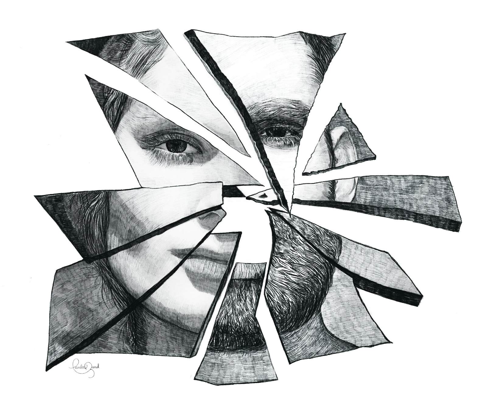 ART/ILLUSTRATION - Creative and inspiring projects in black and white.