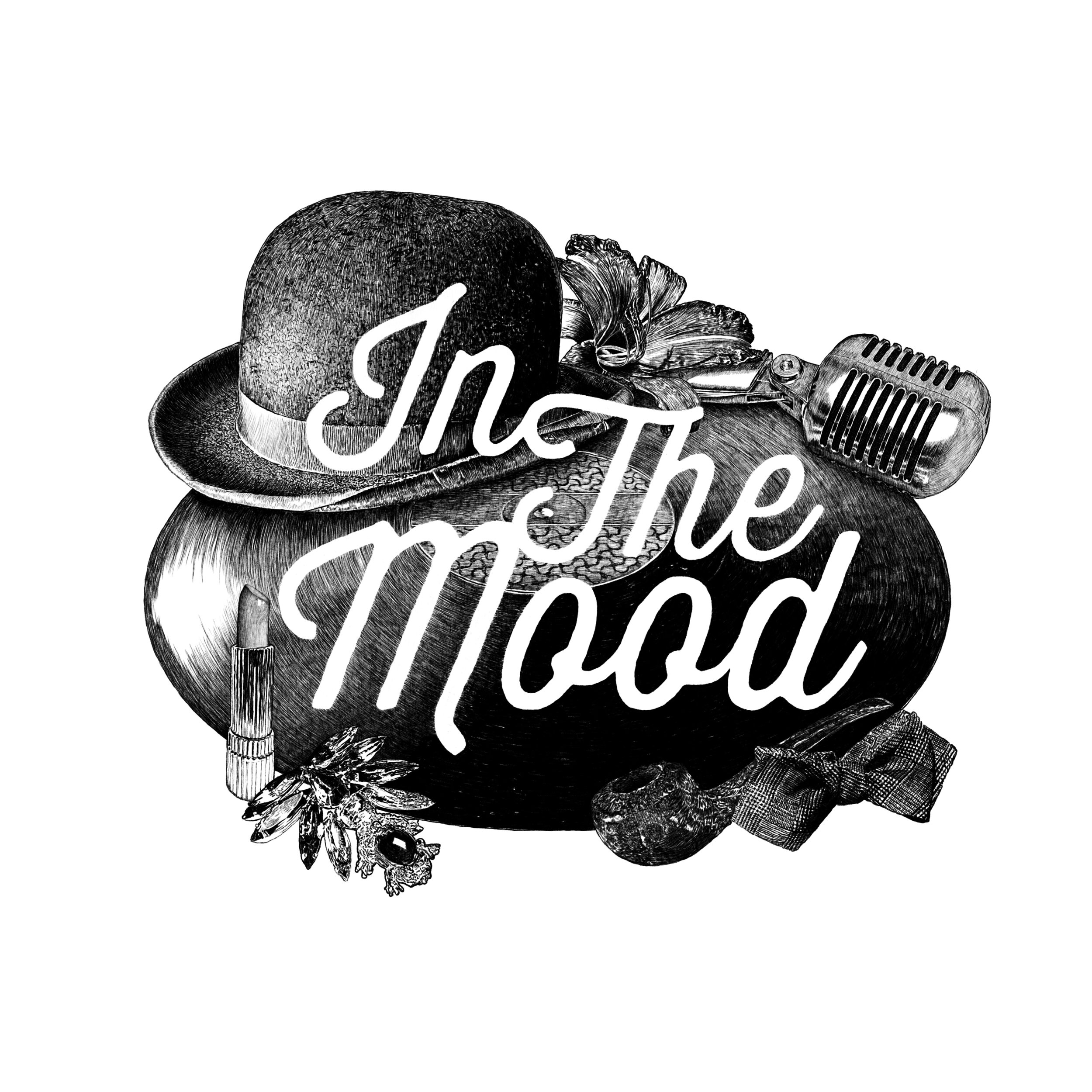 In The Mood -klubin logo, Harri Hertell, 2013