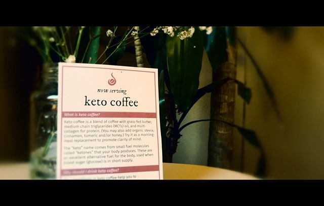 Have you tried the Keto Coffee? #keto #diet #healthfoods #cleanse #brazil #tumeric #cinnamon #stevia #grassfedbutter #omega3 #happy #☕️