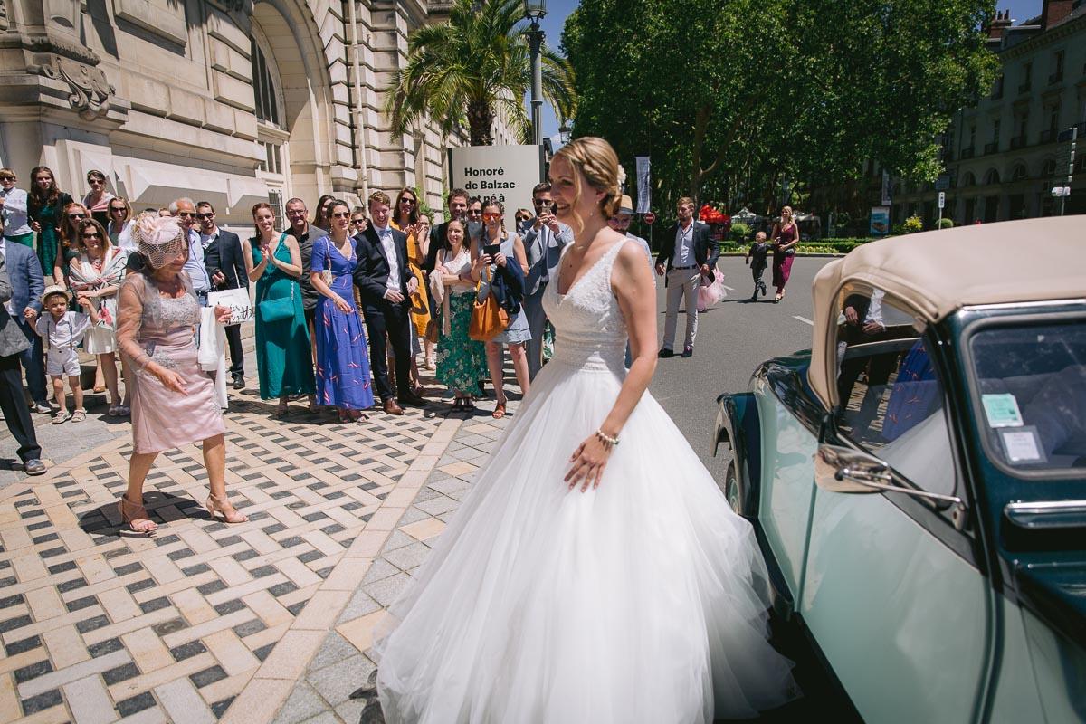 Mariage à la Mairie de Tours