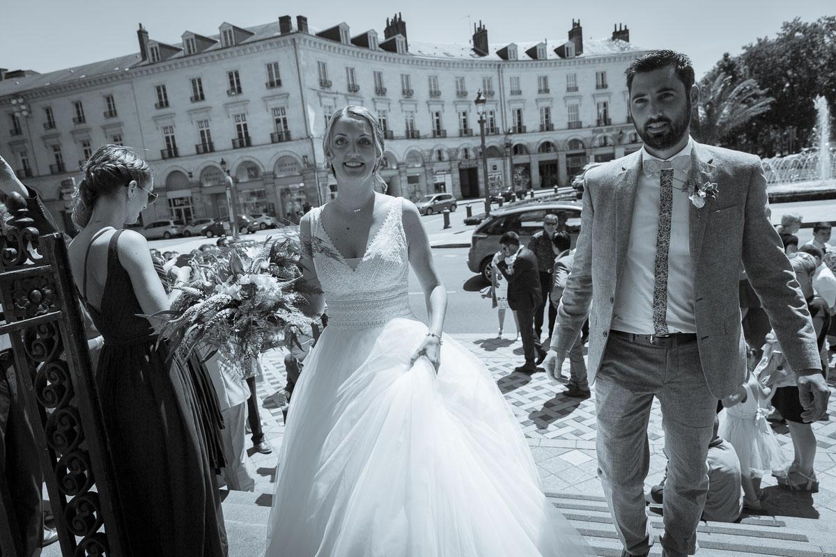 Mariage à la Mairie de Tours Photographe