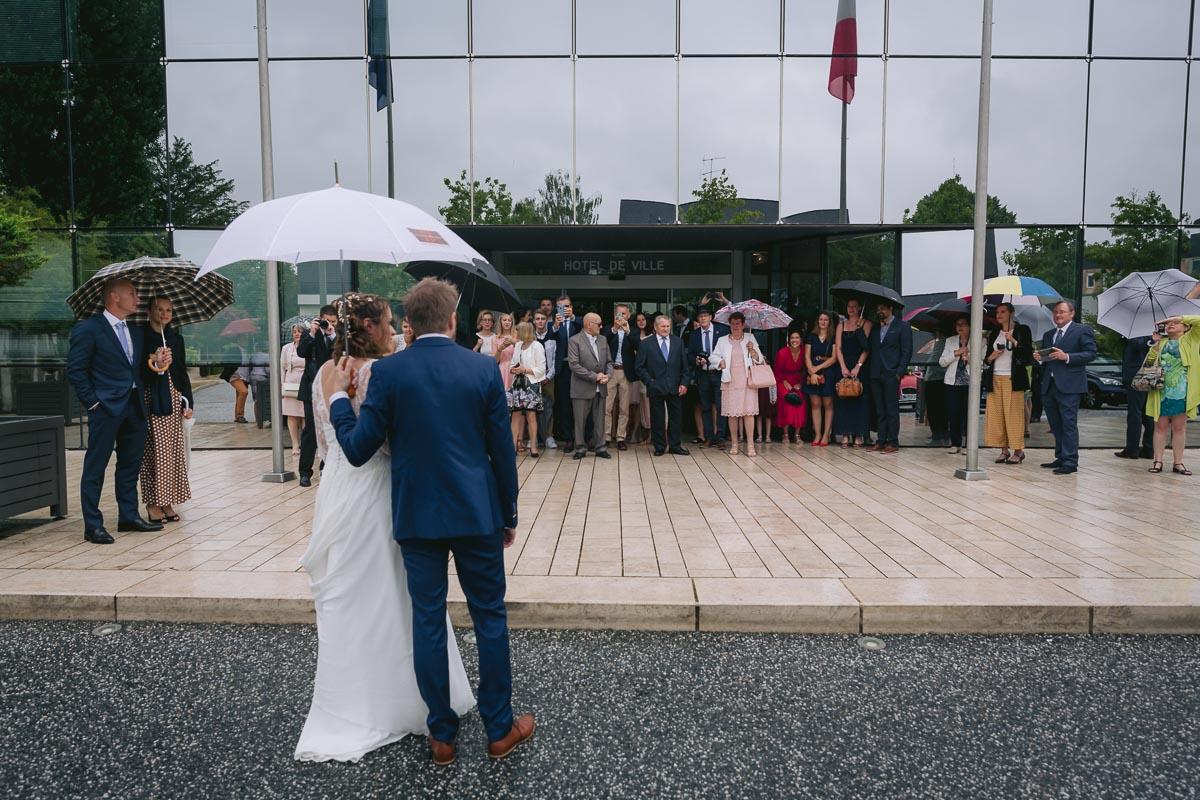 Mariage à la mairie de Saint Avertin