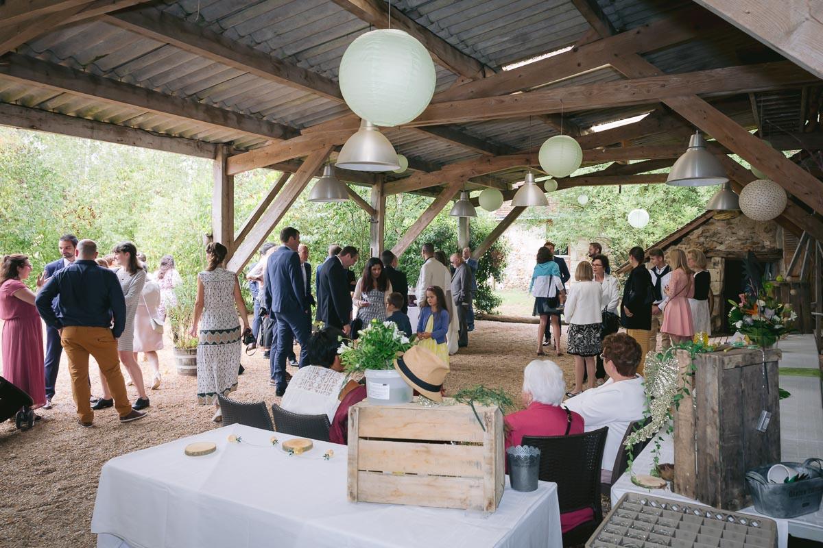 Mariage à La Racaudiere, Villandry