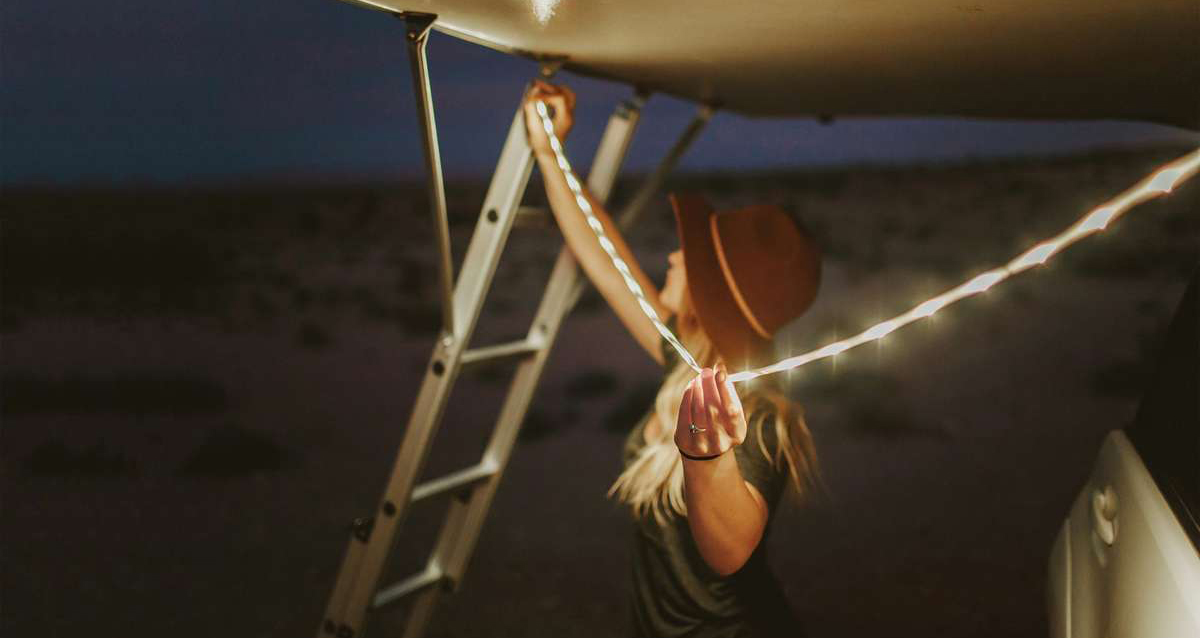 Luminoodle Outdoor Lighting - Use-Anywhere Waterproof Light Ropes