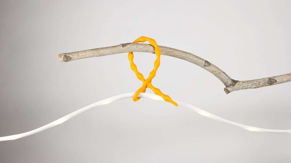 UNIVERSAL TIES - Easily attach your Luminoodle to tent poles, trees, or any object available.
